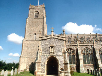 Blythburgh Church was only saved in the 1880s